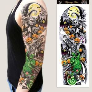 Waterproof Temporary Sleeve Arm Tattoo - 70% OFF Today