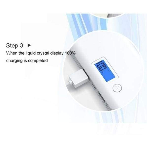 2018 New 100000mAh High Capacity Portable Power Bank Dual USB LCD Display Powerbank Battery Charger for Mobile Smartphones and Tablet