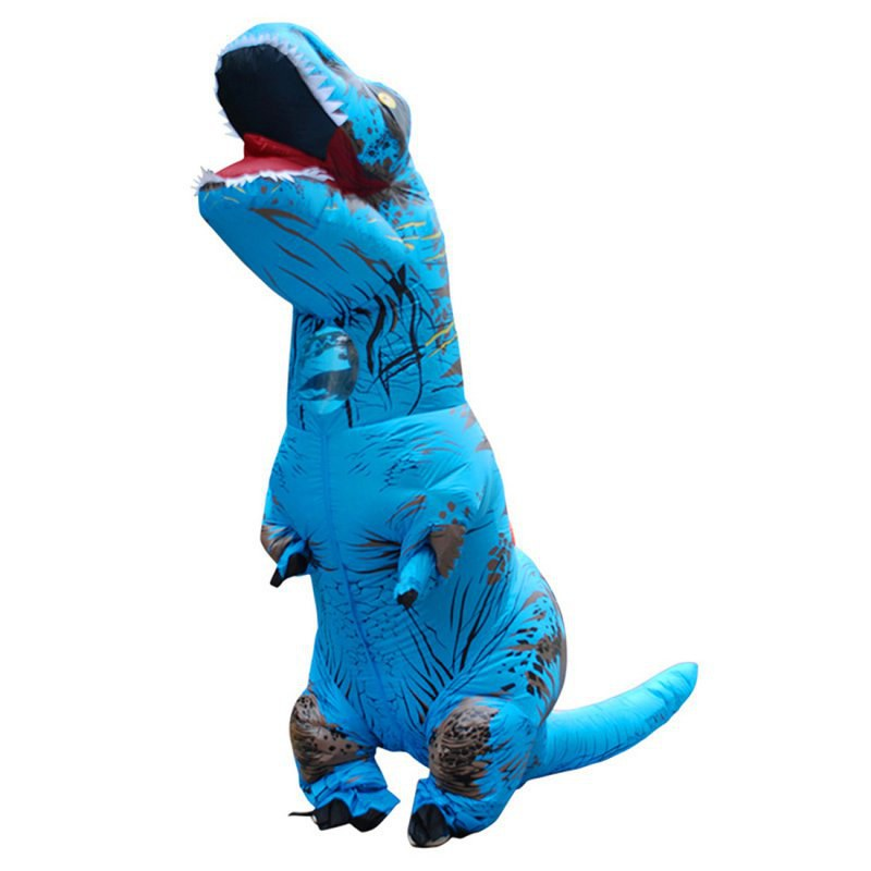Ahome7 Adult's Inflatable Dinosaur Costume Fun Party Halloween Xmas Kids Cosplay Costumes