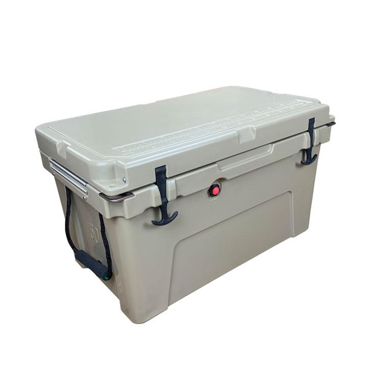 Portable insulated cooler box ice box plastic cooler box for medical vaccine blood transport