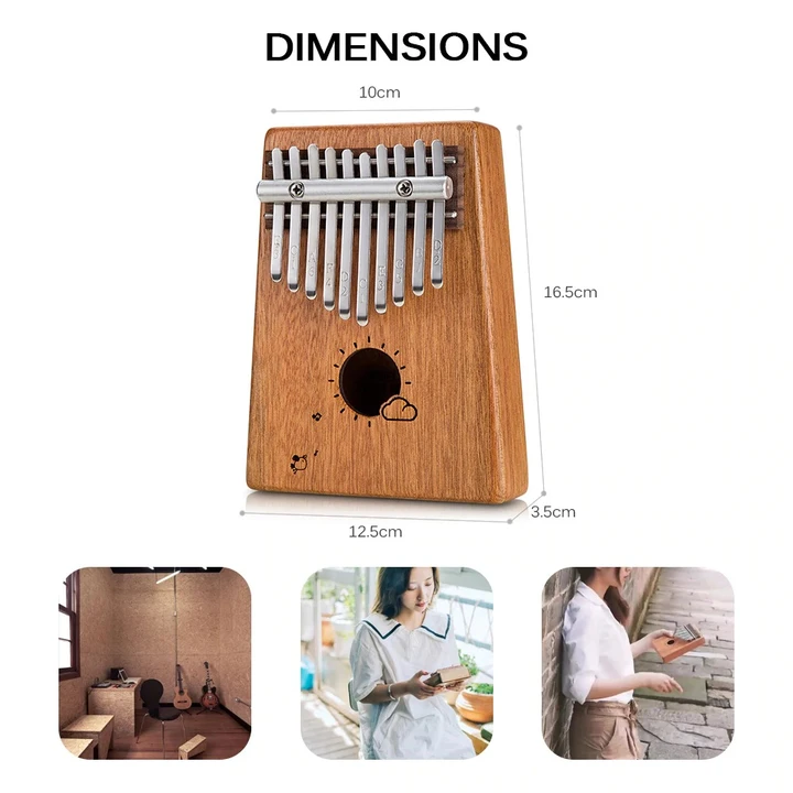 ✨50% off Last day Promotion✨Absolutely wonderful instrument--Gorgeous 17 Keys Kalimba