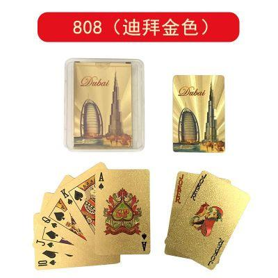 Tyrant gold and gold playing cards