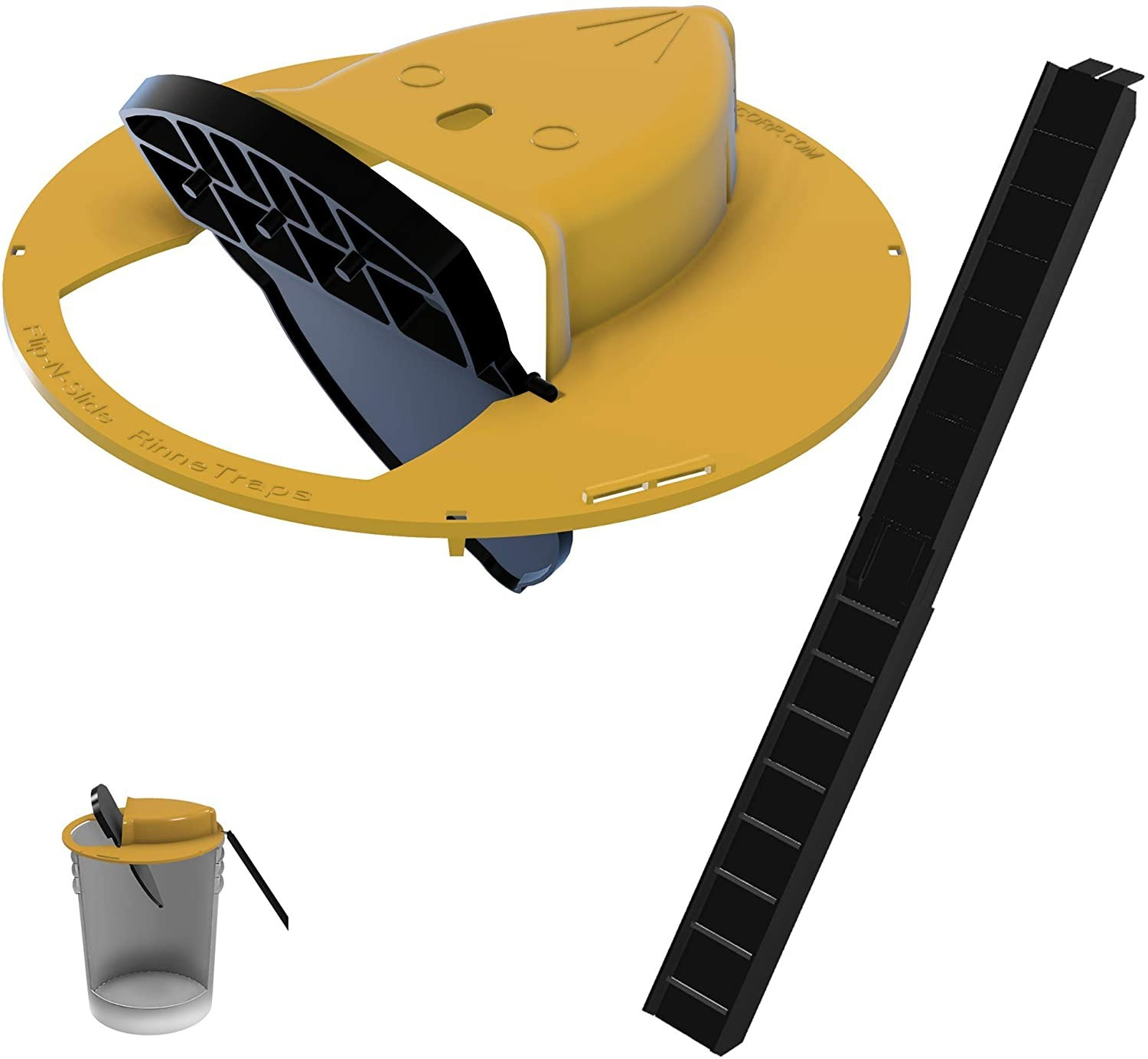 New Upgrade And Detachable Slide Bucket Lid Mouse Rat Trap