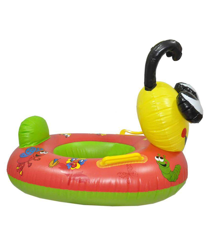 EZ Life Inflatable Bee Swimming Ring Float For Kids (Mix Colors)