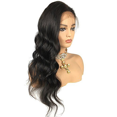 Black Wigs For Black Women Human Hair Wigs With Bangs For African American Dark Lace Frontal Buy Black Wig Large Cap Size Wigs African American