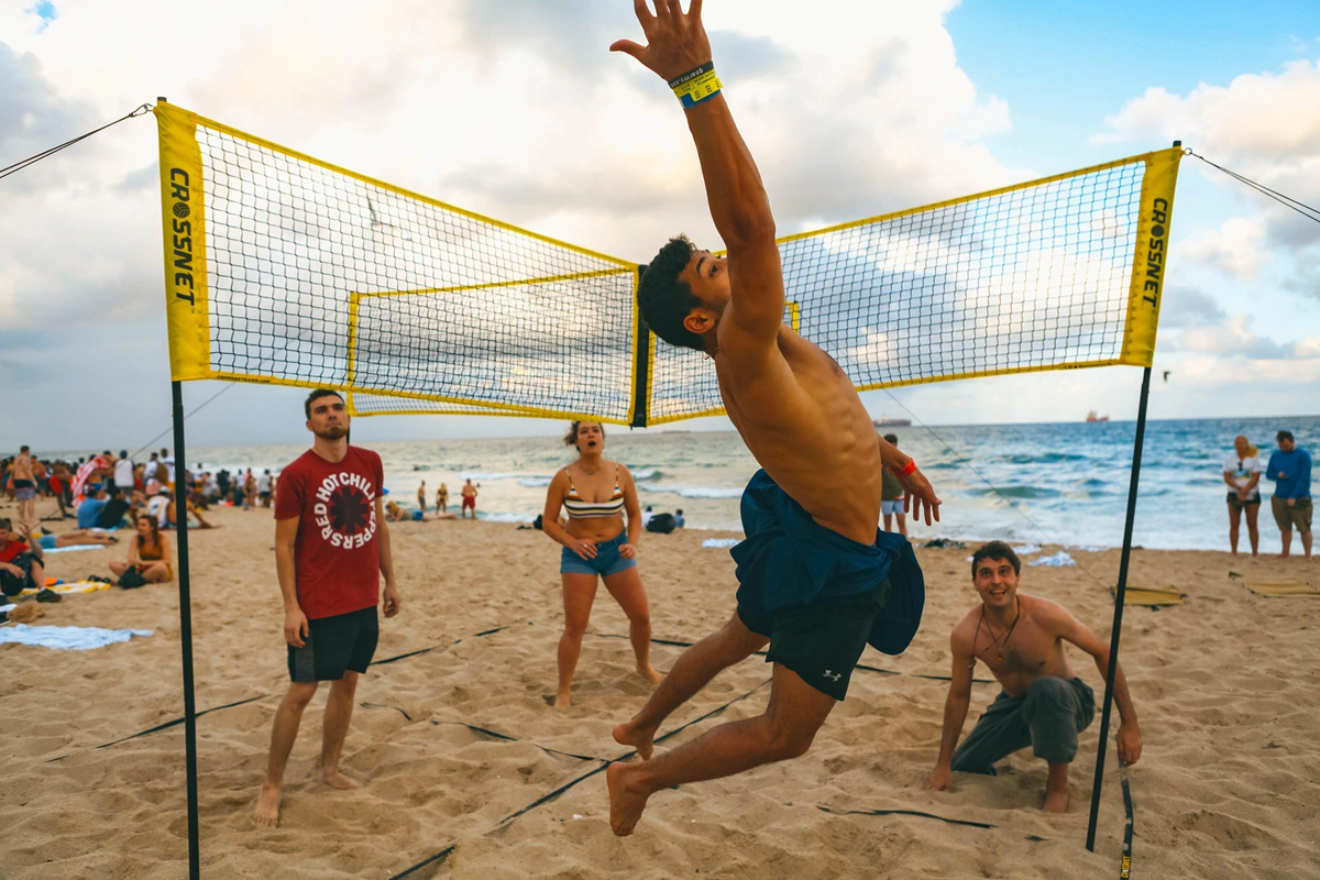 🔥🔥Hot sale - Cross Volleyball Net - Buy More Save More