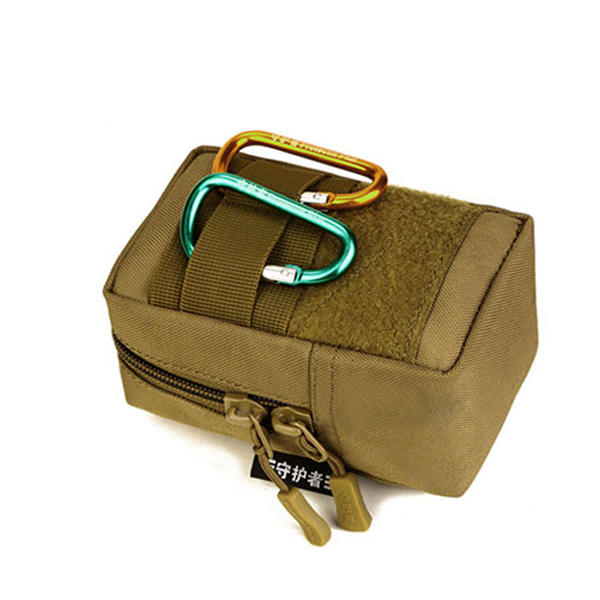 Tactical Outdoor 4.7 inch Phone Package Running Cycling Accessory Waist Bag - Khaki