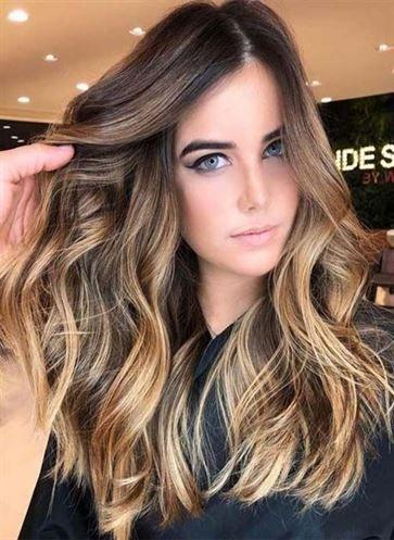2020 Fashion Ombre Blonde Wigs Black And Pink Lace Front Wig