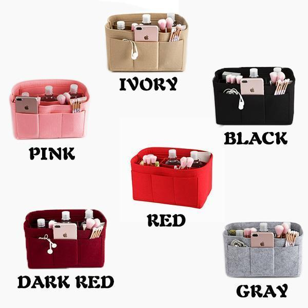 2020 Hot Sale Felt Handbag Insert Organiser