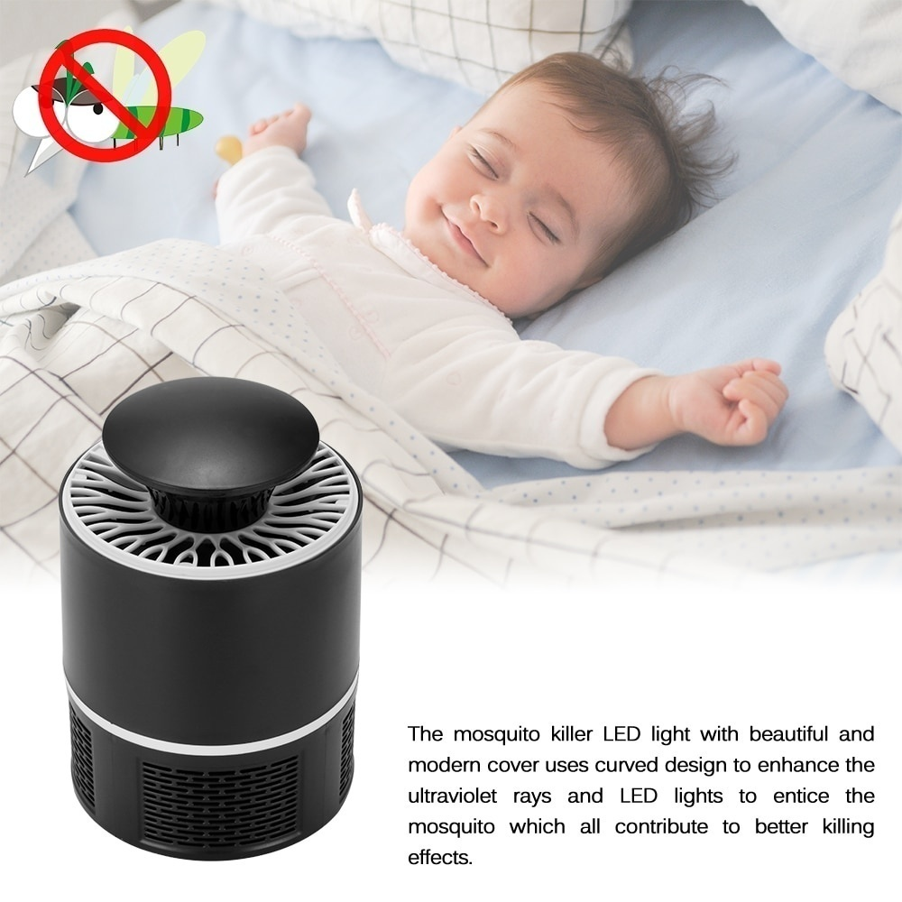 Gadgets Fashion USB Photocatalyst Mosquito killer lamp Mosquito Repellent Bug Insect Trap light UV Light Killing Trap Lamp Fly Repeller