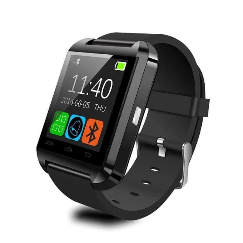 High Quality Multifunction Bluetooth Smart Watch U8 digital sport watches For Android Phones 6 Colors