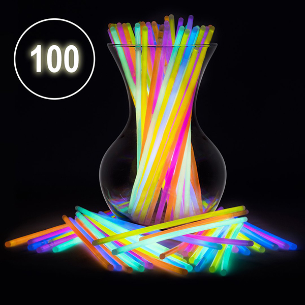 50%OFF Today-Glow Sticks Bulk Party Favors 100pcs