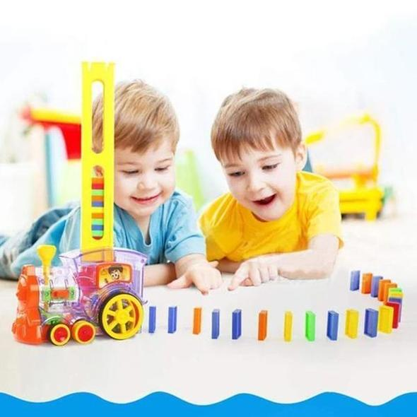 【FreeShipping - 60% OFF ONLY TODAY】Automatic Domino Train
