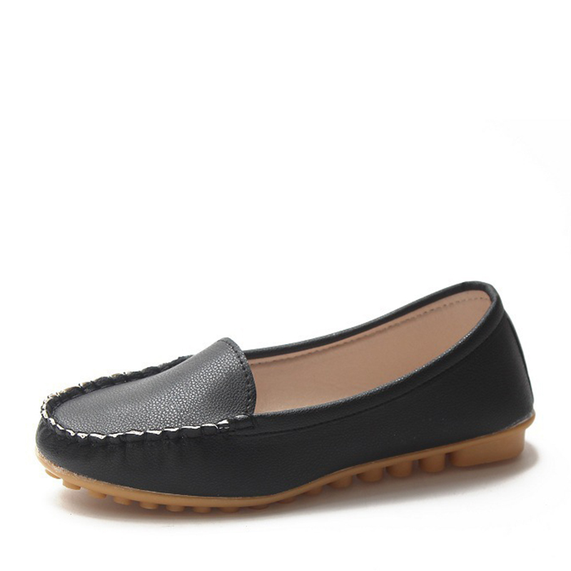 Casual Shoes Lady's New Flat Comfortable All-match Single Shoes