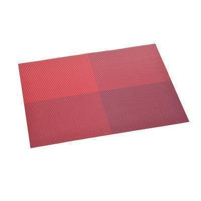 European Rectangular PVC Waterproof Non-slip Mat Placemat