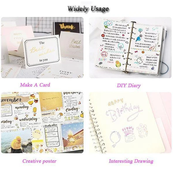 【Last Day Promotion】Double Line Outline Pen,For Gift Card Writing & Drawing