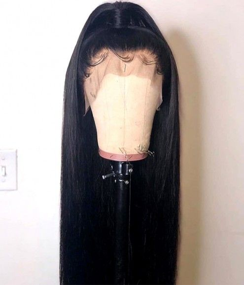 2020 New Straight Wigs Black Long Hair Wavy Wigs For African American Braided Wigs For Black Hair