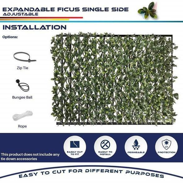 🔥2021 New Upgrade🔥Expandable Faux Privacy Fence(Buy 5 Get 2 Free )