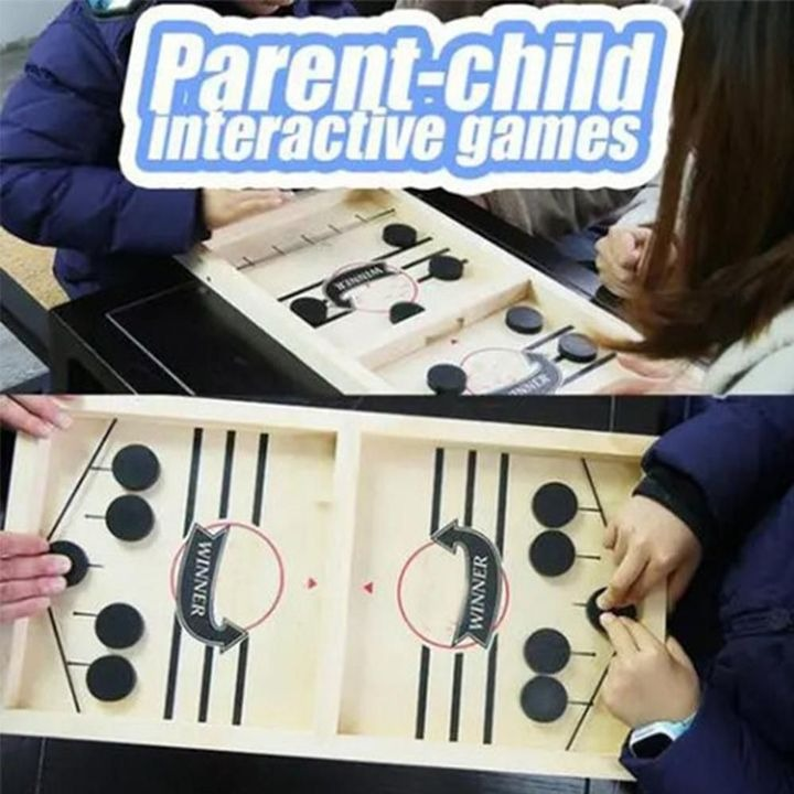 💥Early Summer Hot Sale 50% OFF💥 Funny Family Wooden Hockey Game & Buy 2 Get Extra 10% OFF
