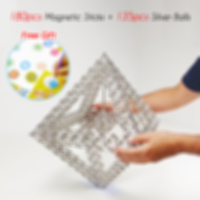DIY Magnetic Sticks And Balls-45% OFF TODAY !!