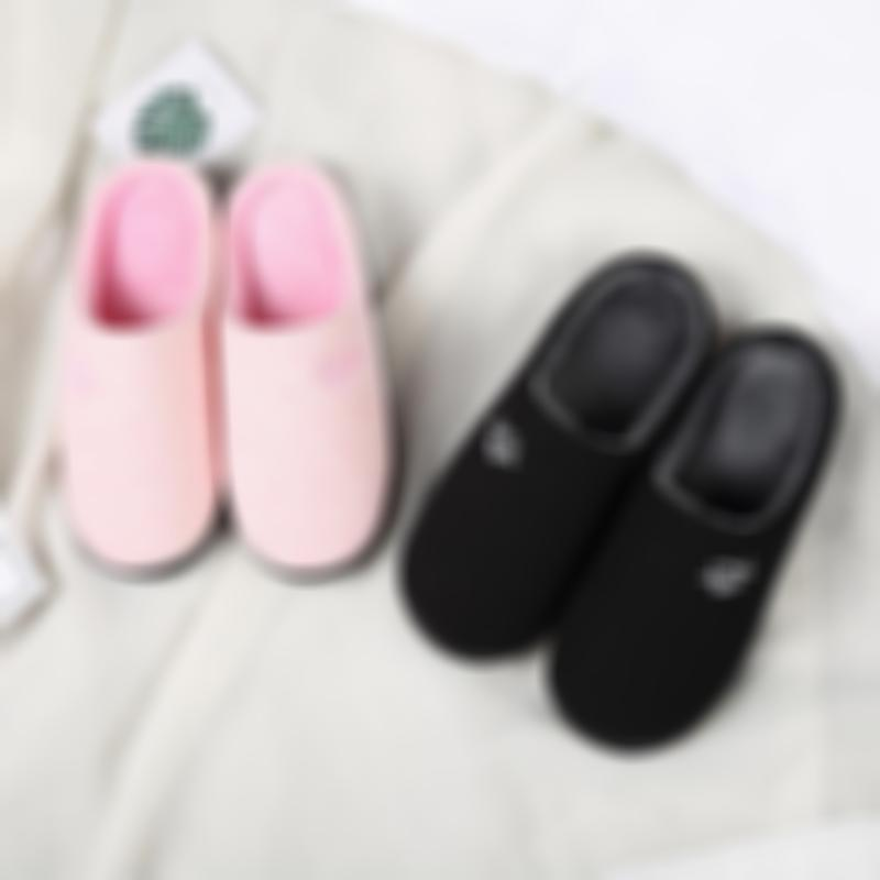 Thicken Warm Non-slip Fashion Cotton Slippers For Lovers