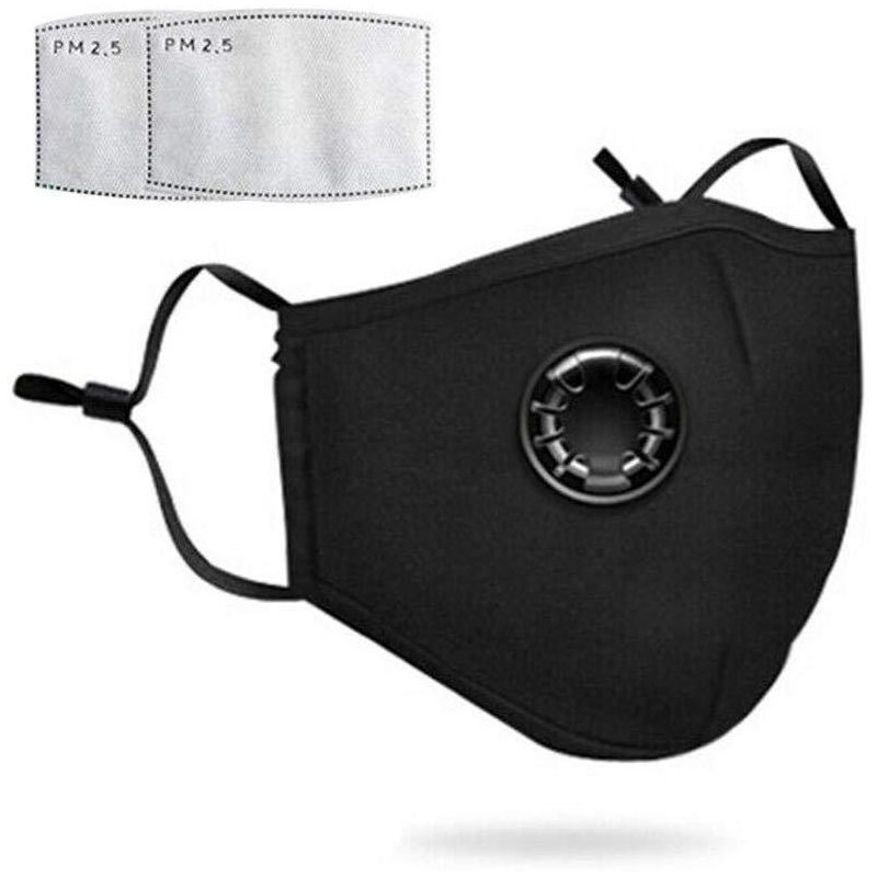 Reusable Air Pollution Face Mask with PM2.5 Filters