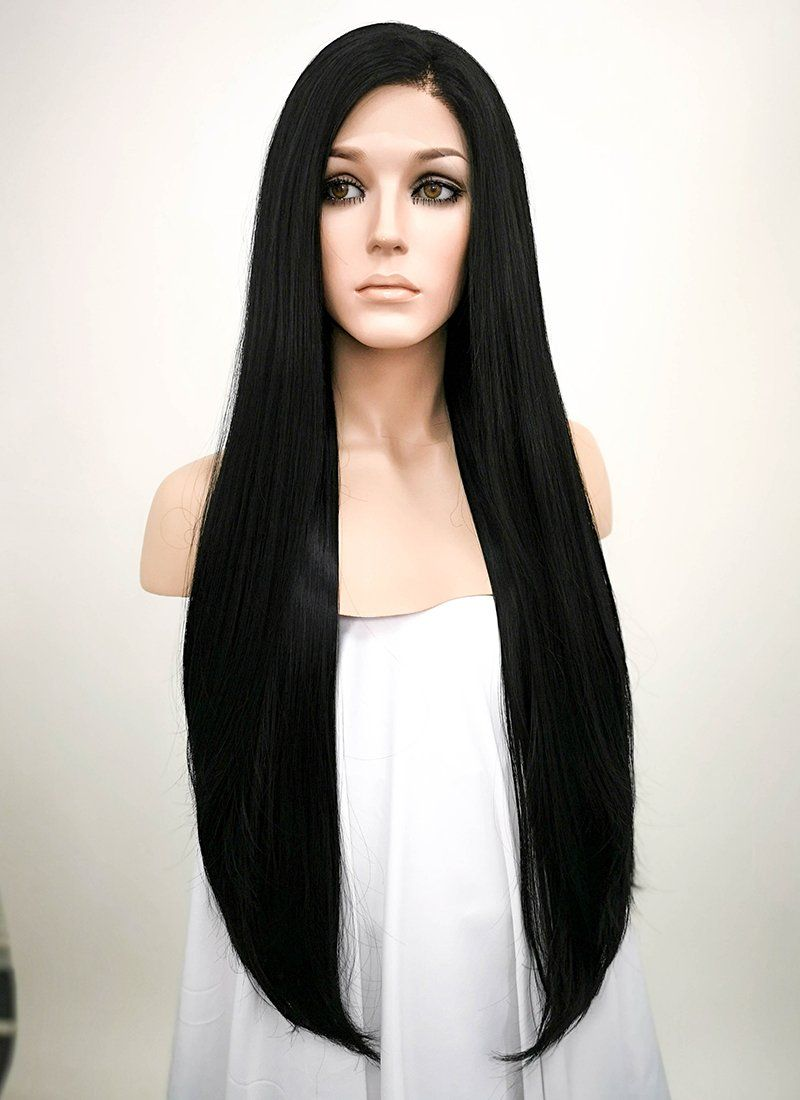 2020 New Straight Wigs Black Long Hair Large Cap Size Wigs African American Clip In Tracks For Black Hair