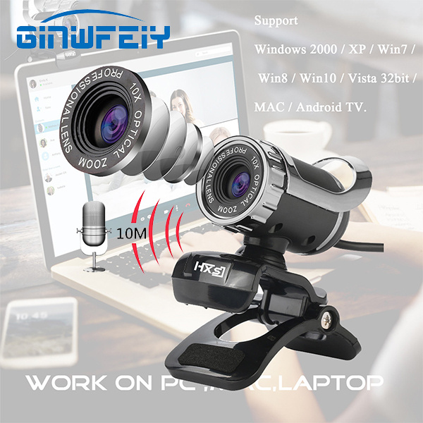 Last Day Promotion 55% OFF-2020 New USB HD Web Camera With Microphone