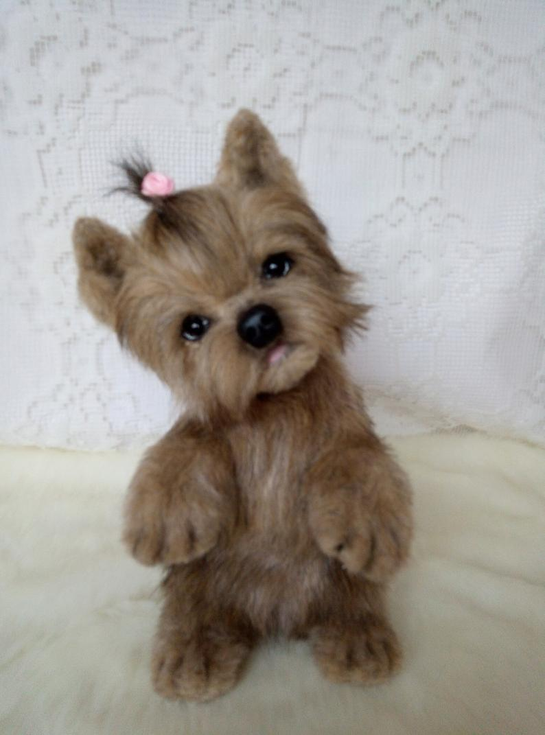Realistic Yorkshire Terrier Puppy (Piky)