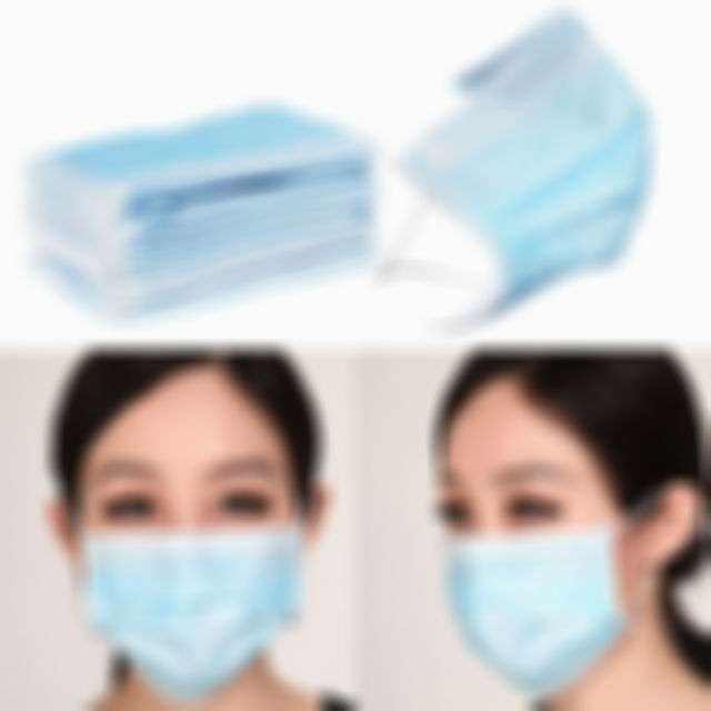 Kisslay 50X Face Masks Earloop Mouth Dustproof Mask (USE CODE:S10 Get 10% Off)