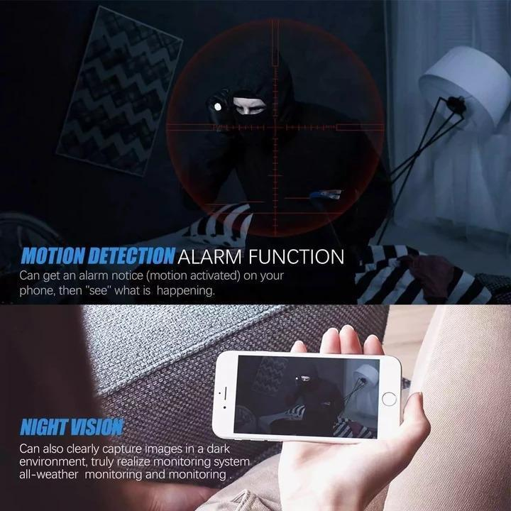 A9 WiFi 720/1080P Full HD Magnetic Wireless IP Mini Camera With Night Vision Function