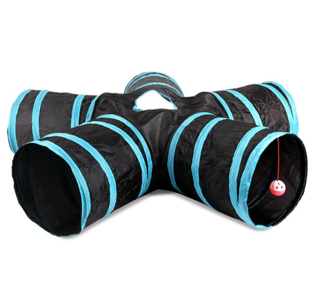 3/4/5 Holes Foldable Cat Tunnel
