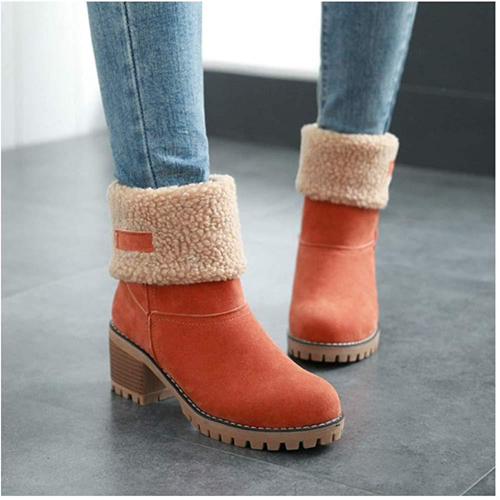 🔥$19.99 Hot Sale🔥-2019 New Suede Snow Chunky Boots (Buy 2 Get Free Shipping)