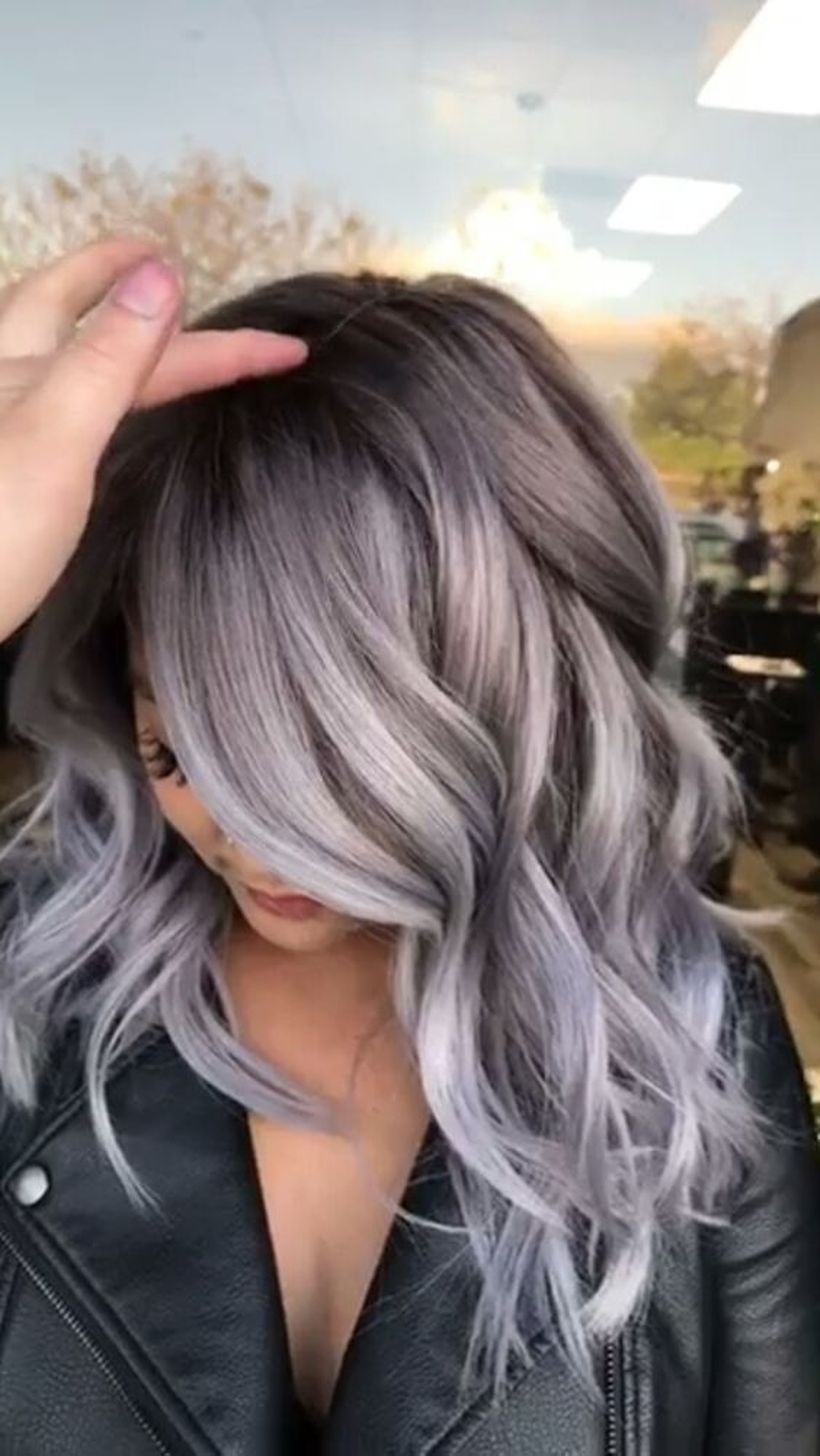 2020 Best Lace Front Wigs Light Gray Hair Color Gray Lace Front Wig Burgundy Red Lace Front Wig Charcoal Grey Wig