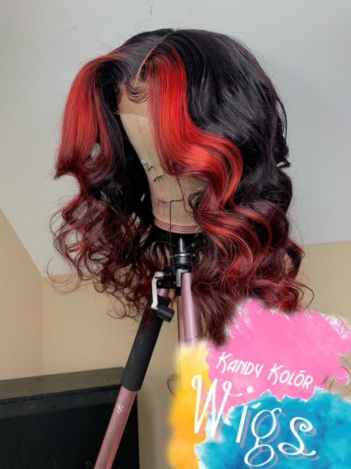 Red Wigs Lace Front Simple Haircut For Boys Medium Length Haircuts Men Hair Cutting Style Man Easy Half Up Half Down Hairstyles Hairstyles For Short Curly Hair Colors Wigs