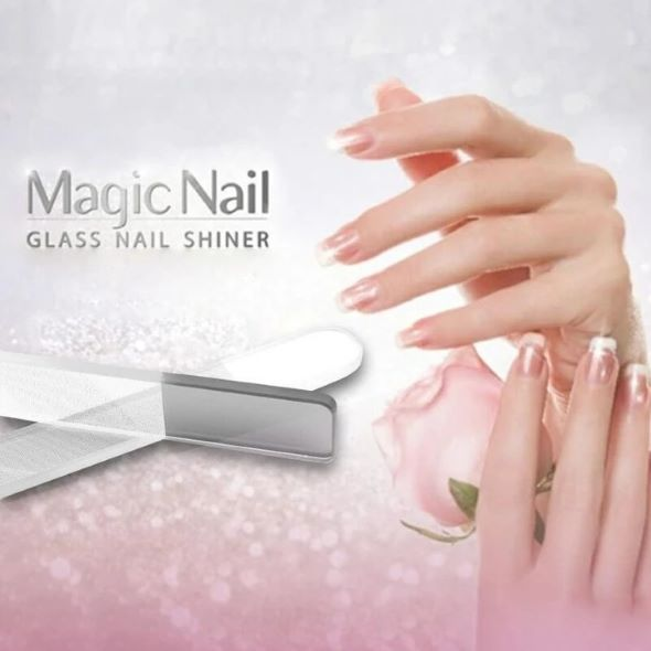 (SUMMER HOT SALE--50% OFF)Nano Polished Glass Nail File--Buy 5 Get 1 Free & Free Shipping