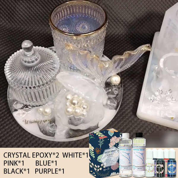 60% OFF TODAY!! DIY Crystal Glue SET (With 159 molds)