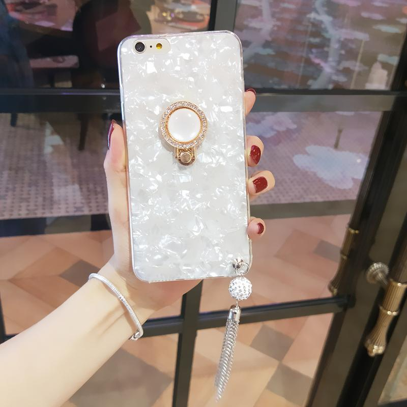 2019[iPhone] fashion Fringed shell female phone case