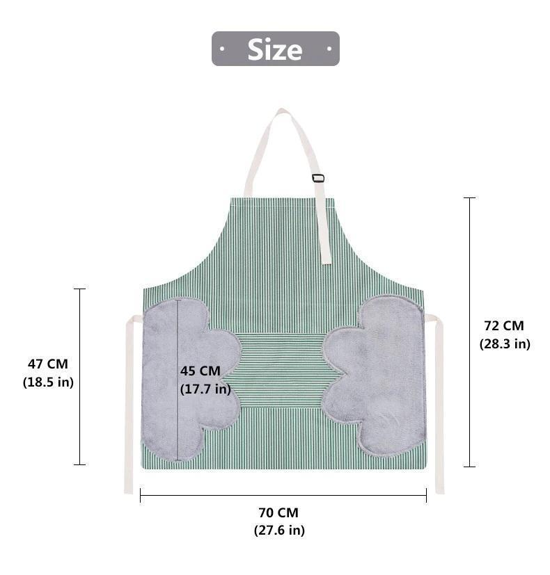 Erasable Hand Waterproof Kitchen Apron🔥BUY 2 FREE SHIPPING🔥