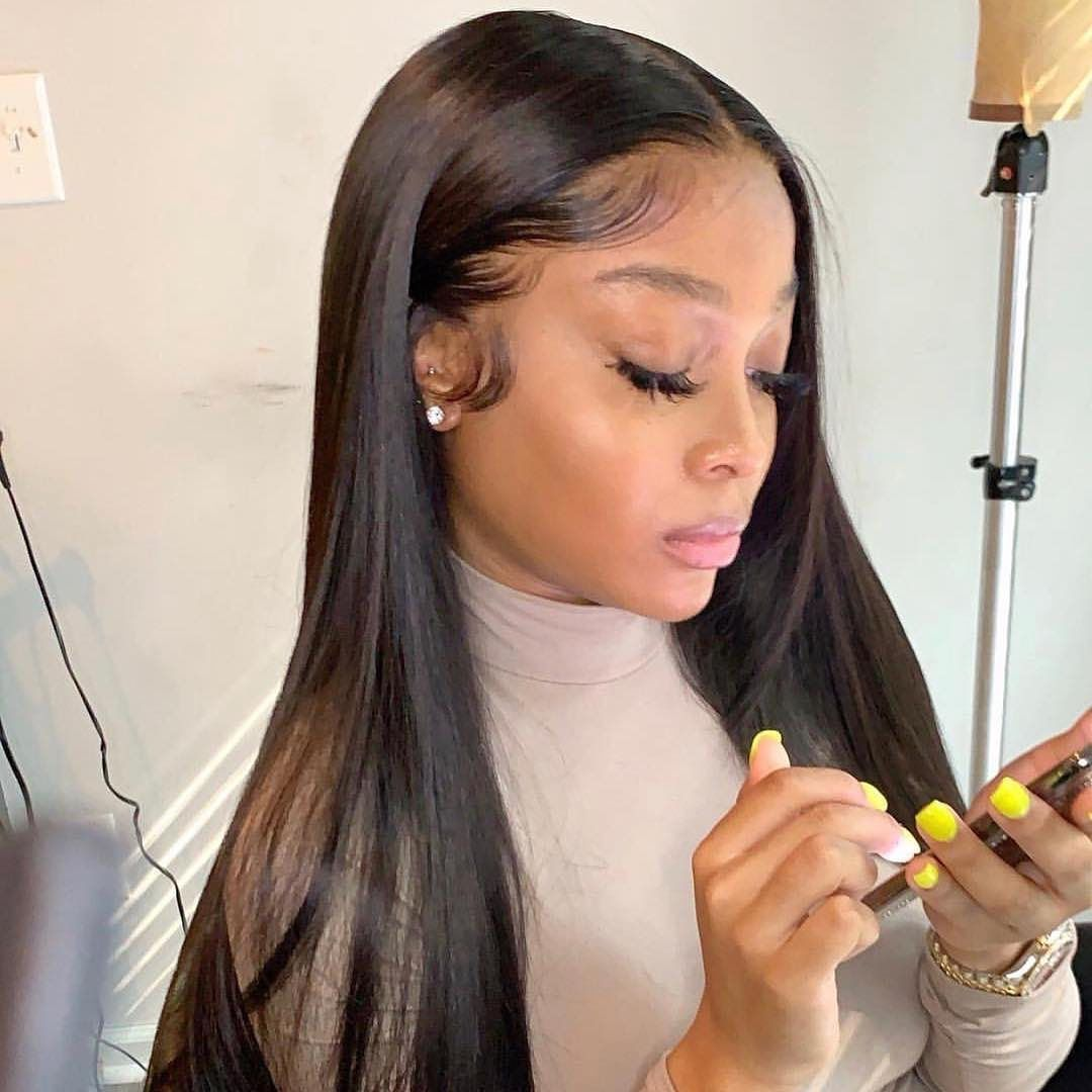 2020 New Straight Wigs Black Long Hair Ombre Wigs African American Cheap Short Black Wigs