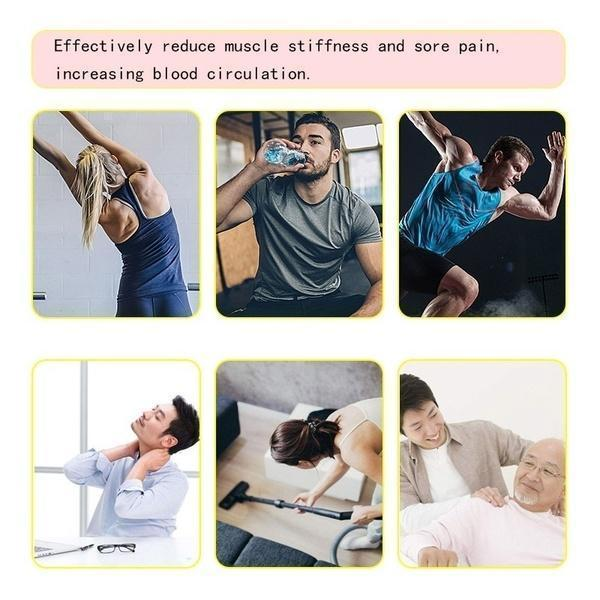 (Christmas Promotion 60% OFF)4 In One,Relieving Pain,3 Speed Setting Body Deep Muscle Massager