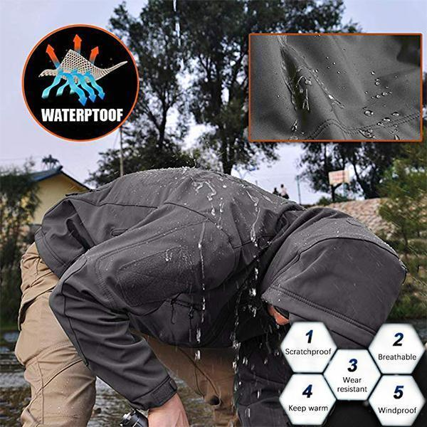 Last Day Promotion-Tactical Waterproof Military Jacket(Buy 2 Free shipping)