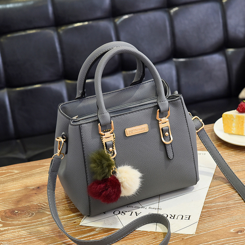 Women Simple Fashion Hand-Held Diagonal One-Shoulder Bag