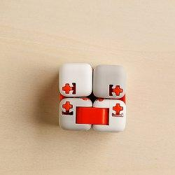 Xiaomi MiTU Fingertip Building Block Decompression Puzzle Assembling Cube Toy - Crystal Cream