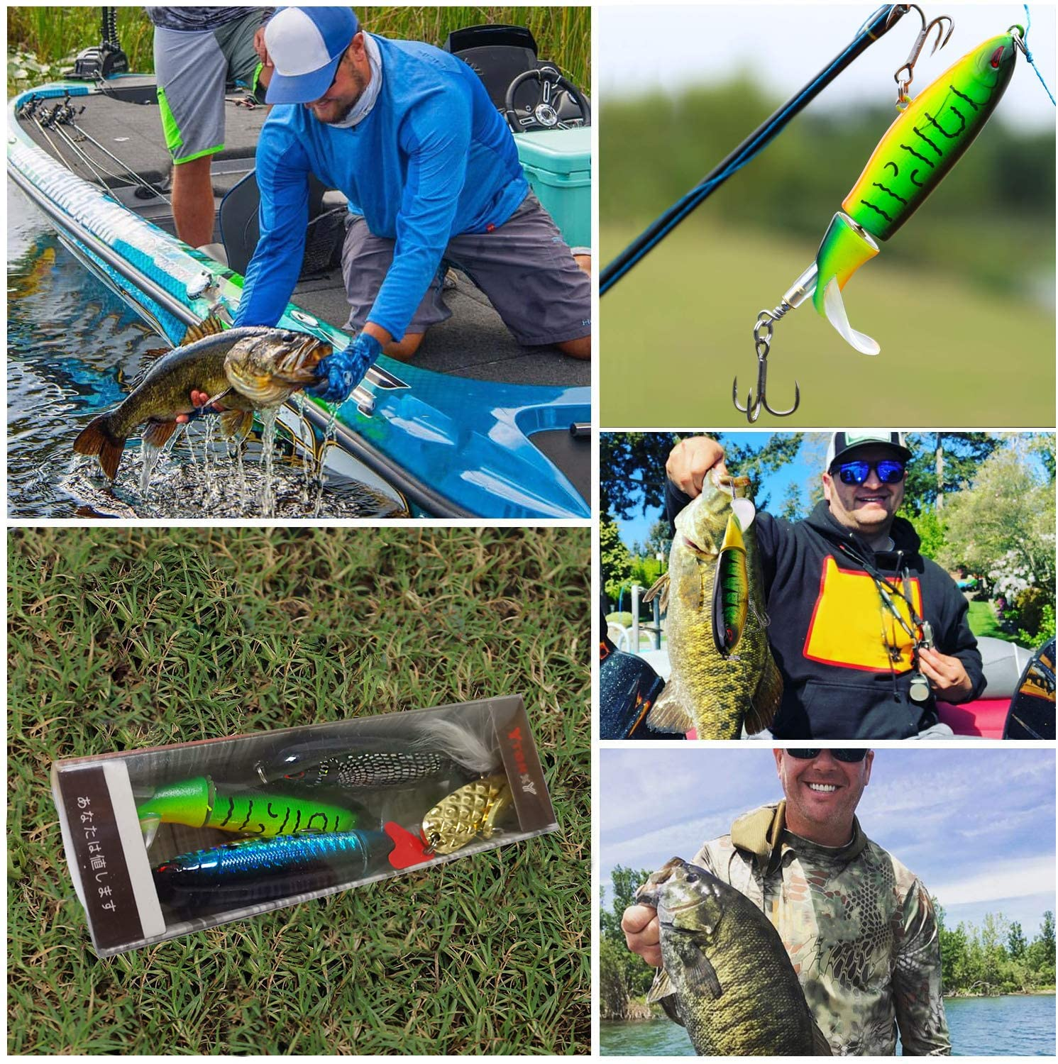 Father's Day 50% OFF - Floating Rotating Tail Lures Hard Bait