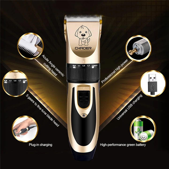 🐱!! Low Noise Pet Hair Clipper