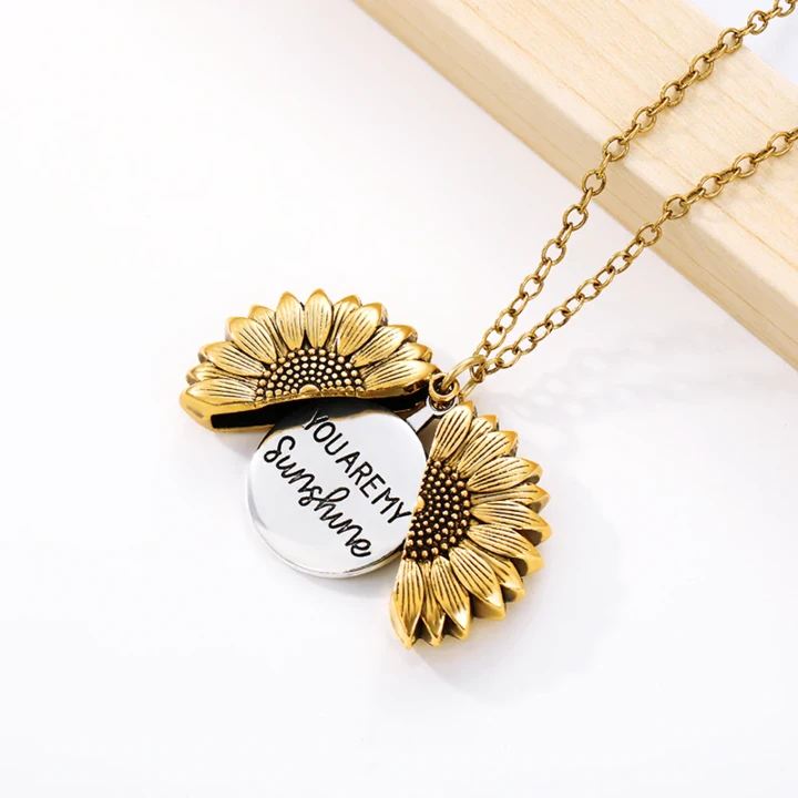 🌻You Are My Sunshine Sunflower Necklace(BUY 2 FREE SHIPPING & BUY 3 GET 1 FREE)