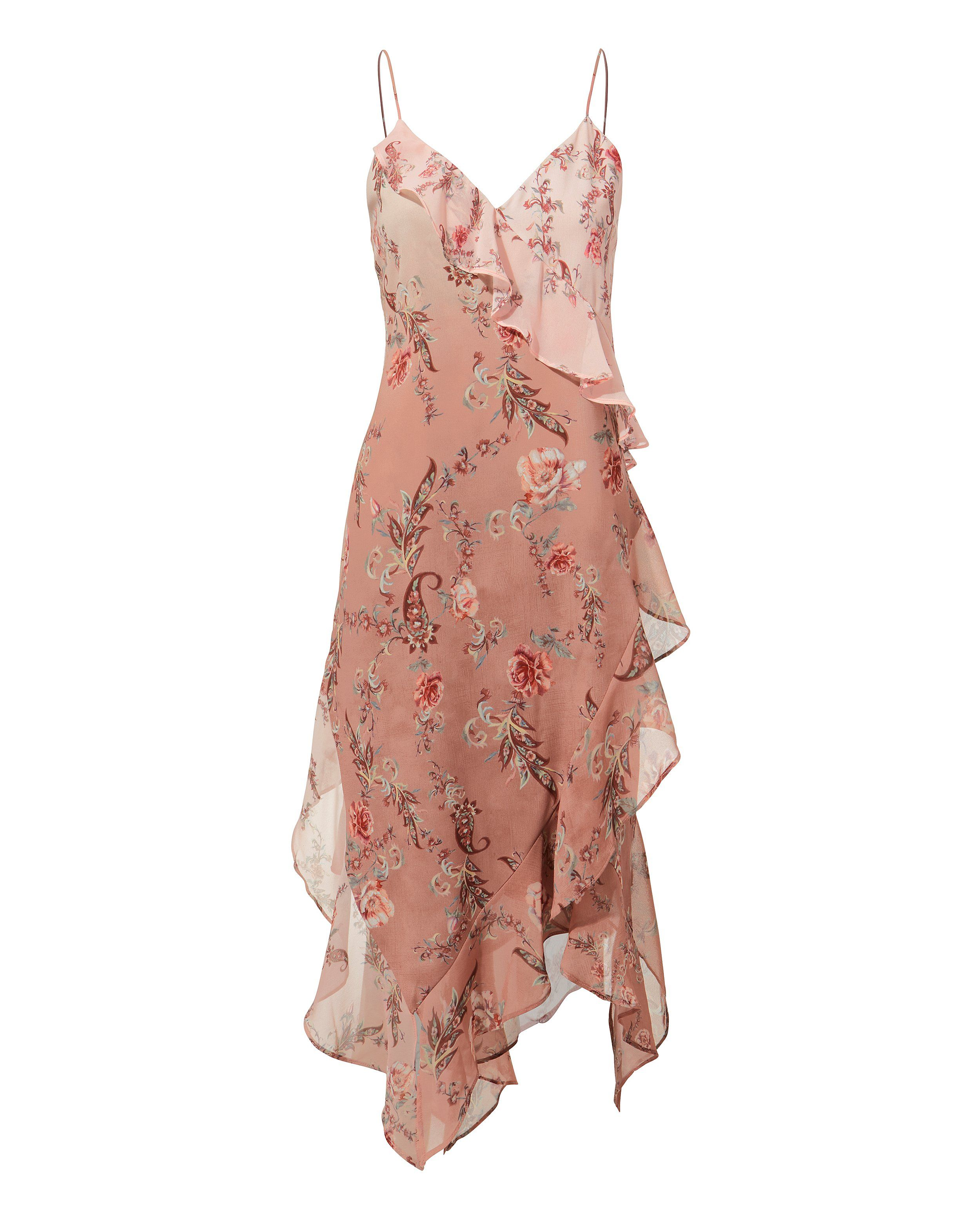 2020 Women Dress Casual Dress Print Formal Clothing Style Casual Garden Party Attire