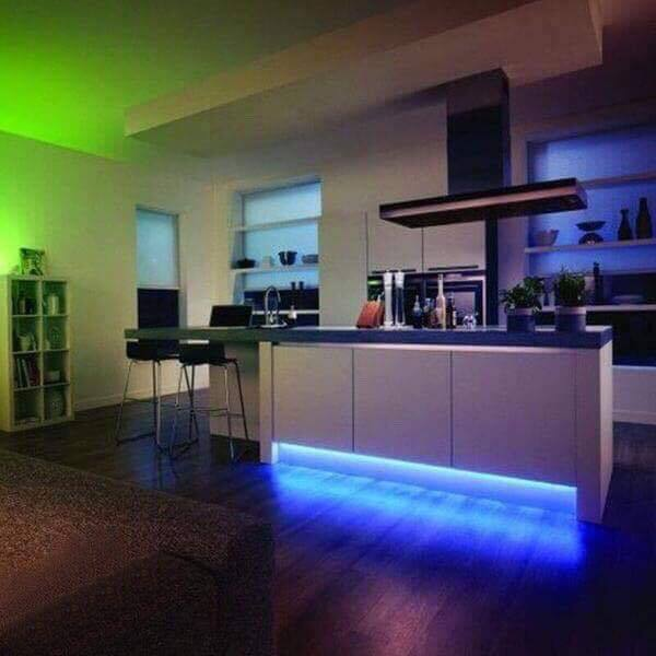 32ft Color Changing Waterproof LED Light Strip (Remote Included)
