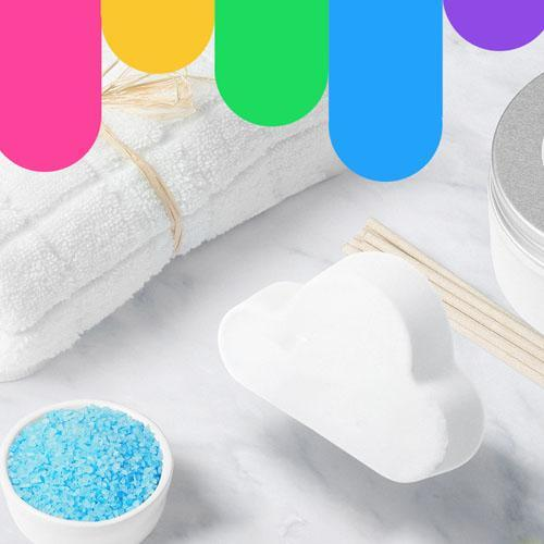 (Last Day Promotion&50% OFF) Rainbow Bath Bomb